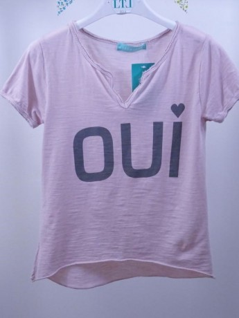 Camiseta de niña OUI.