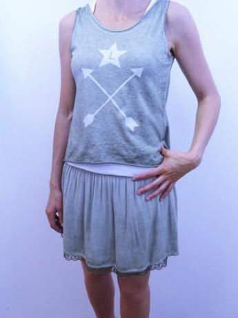 look camiseta doble liberatta.