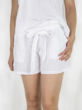 Short de mujer de lino.