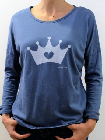 Camiseta manga larga corona by liberatta
