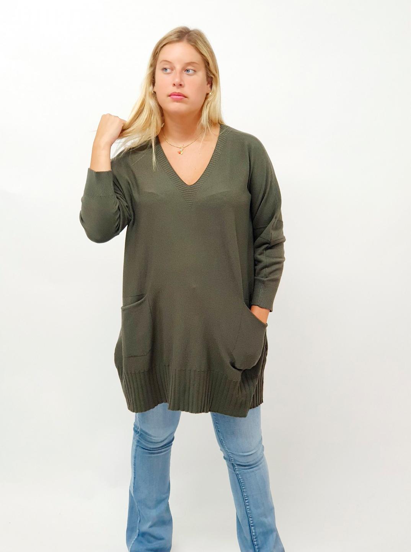 Cómo llevar un jersey oversize con estilo