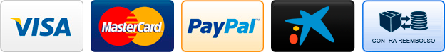 Tipos de pago soportado