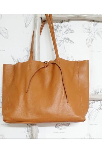 Bolso de piel Personalizado modelos shopping camel