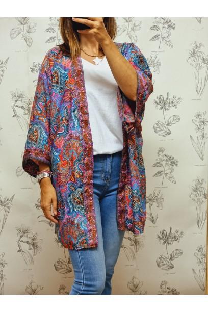 Kimono colores cachemir